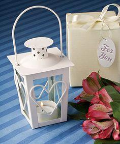 Mini tea light lantern favors