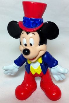 Disney Mickey Mouse Club House Mickey 4' Pvc Figure Cake Topper Doll Toy ** You can get more details by clicking on the image.(It is Amazon affiliate link) #StarWarsToys Mickey Mouse Club, Disney Mickey Mouse, Minnie Mouse, Doll Toys, Dolls, Starwars Toys, Cake Toppers, Amazon, Link