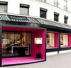 Fauchon, una pastelería de lujo en París . Aqui seria super feliz