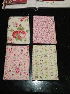 Song books covers in English floral fabric for sisters from Italy Family Worship Night, Song Books, Floral Fabric, Book Covers, Sisters, English, Italy, Songs, Board