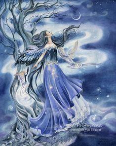 Fairy Art - Fantasy Art of Janna Prosvirina