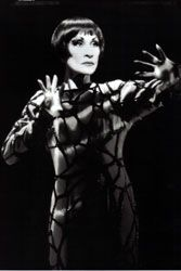 Chita Rivera in Spiderwoman - photo by Catherine Ashmore