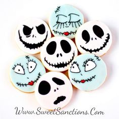 NIGHTMARE BEFORE CHRISTMAS Style Jack Airbrushing Stencil Wall CupCake Party