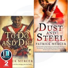 Buy now #PatrickMercer  2 #Books  Collection Set Dust and Steel,  To Do or Die #booksforsale #dailydeal #buyingbooks #buybooks