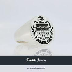 Lytton family crest jewelry