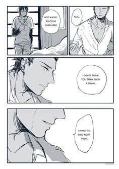 Japanese Malec comic part 2 ... alexander 'alec' lightwood, magnus bane, the mortal instruments