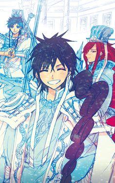 Hakuren Ren, Judar, Koumei Ren Magi: The Labyrinth of Magic