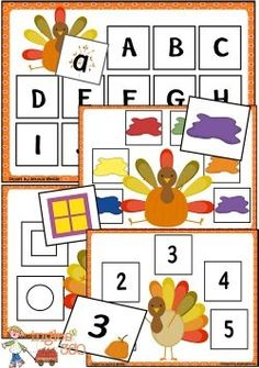 Be sure to grab these FUN Turkey File Folder for your little ones! Hurry while it's FREE!