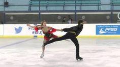 ISU Junior Grand Prix- St. Gervais Free Dance New Link 2016  Angelique A...