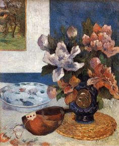 TICMUSart: Still-Life with Mandoline - Paul Gauguin (1885) (I.M.)