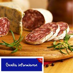 Fein geschnitten ist diese Salami ein hocharomatischer Genuss. Hier klicken: http://blogde.rohinie.com/2013/01/wurst/ #Italien #Reggio-Emilia #Salami #Schweinefleisch