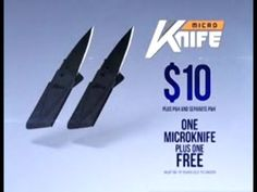 http://asseenontvblog.net/index.php/as-seen-on-tv-micro-knife-review/ The Micro Knife is the new As Seen On TV mini knife that folds down to the size and thickness of 2 credit cards! #video #asseenontv #asotv #knive #knives #pocket #microknife