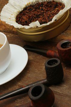 Pipes, coffee and tobacco
