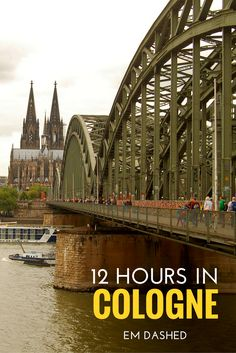 Ideas for a day in Cologne, Germany -- including the Kölner Dom, the Hohenzollern Bridge, Kölsch beer, and more!