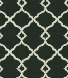 Waverly Sun N Shade Outdoor Fabric-Chippendale Fretwork Onyx & Print Fabric at Joann.com