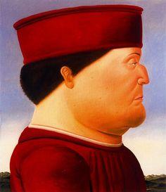 Botero, Fernando (1932- ) - 1998 After Piero della Francesca (Private Collection of the Artist) by RasMarley, via Flickr