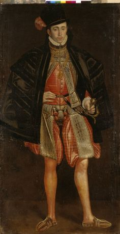 Portrait of a family member of the Count Palatine of Zweibruecken-Veldenz, Master of the Vohenstrauss Portraits, paint on canvas, c. 1575, Neuburg an der Donau, Germany.