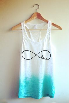 Infinity Love Tie Dye Tank Top