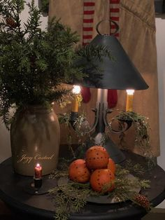 Christmas at the Casteel home, circa Beautiful! Primitive Christmas Decorating, Country Christmas Decorations, Cabin Christmas, Woodland Christmas, Christmas Tablescapes, Christmas Centerpieces, Rustic Christmas, Xmas Decorations, Christmas Crafts
