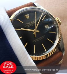 Full Set – Rolex Datejust 16013 with black dial #rolex #timepiece #RolexOfficial #militarywatches #boxandpapers
