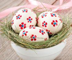 Cascas de ovos de páscoa
