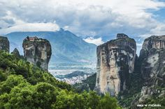 Meteora Monasteries, Kalambaka, Kastraki, Greece. ANIA W PODRÓŻY travel blog and photography