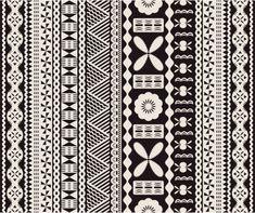 View top-quality illustrations of Fijian Tapa Pattern. Find premium, high-resolution illustrative art at Getty Images. Polynesian Designs, Polynesian Art, Samoan Designs, Polynesian Culture, Polynesian Tattoos, Fiji Tattoo, Tapas, Muster Tattoos, Celtic