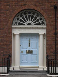 Georgian Door Rodney St Liverpool