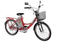 Bicicleta Elétrica TKX City Plus Track & Bikes - Aro 24 Medidor de Bateria e Farol de Led