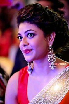 Kajal aggarwal cute and beautiful Most Beautiful Indian Actress, Beautiful Actresses, Kajal Agarwal Saree, Beautiful Heroine, Bollywood Photos, Girls In Panties, Indian Beauty Saree, Beautiful Smile, India Beauty