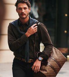 Louis Vuitton: that duffel bag ....