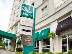 Curitiba Quality Hotel Curitiba Brazil, South America Stop at Quality Hotel Curitiba to discover the wonders of Curitiba. The hotel offers a high standard of service and amenities to suit the individual needs of all travelers. Service-minded staff will welcome and guide you at the Quality Hotel Curitiba. Guestrooms are designed to provide an optimal level of comfort with welcoming decor and some offering convenient amenities like television LCD/plasma screen, air conditioning,...