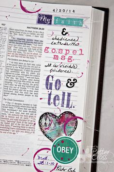 Journaling {Bible} Matthew 28:1-10