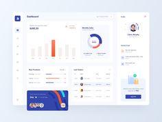 Saas Dashboard by Omer Erdogan on Dribbble Dashboard Ui, Dashboard Design, App Ui Design, Mobile App Design, Web Design, Graphic Design, Design Sites, Wireframe Design, Meditation Apps