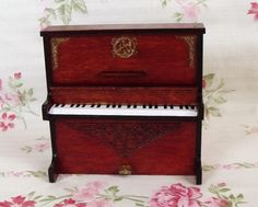 Miniaturka pianino skala 1:12 - handmade w Mini Crafts na DaWanda.com