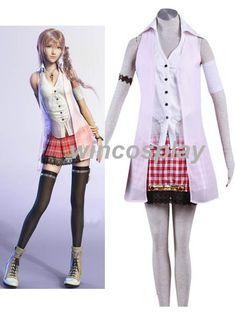 Final Fantasy XIII 13 Serah Farron Cosplay Costume by wincosplay, $63.50