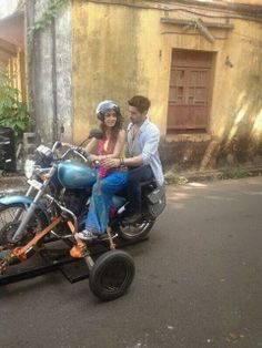 """Checkout Exclusive Pic From Siddharth Malhotra n Shraddha Kapoor Starrer """"Hasee Toh Phasee""""."""