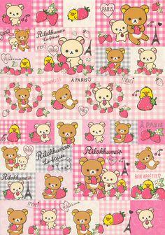 Cute Pastel Wallpaper, Soft Wallpaper, Kawaii Wallpaper, Kawaii Stickers, Cute Stickers, Journal Stickers, Planner Stickers, Rilakkuma Wallpaper, Hello Kitty Coloring