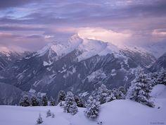 Sunset over Ahornspitze in Austria by Jack Brauer