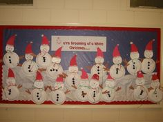 december bulletin board display | ... bulletin board more ideas for christmas bulletin boards prince of