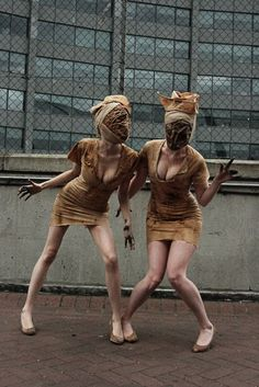 CosGeek: September 2011 Silent Hill Nurses