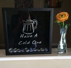 12 X 12  and 12 X 16 Beer Bottle Cap Holder by MrsChicBoutique, $64.99