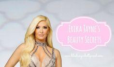Erika Jayne's Beauty Secrets- makeup, hair, skin care, etc. all of the secrets! RHOBH