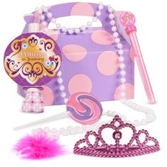 Disney Junior Sofia the First Filled Party Favor Box from BirthdayExpress.com