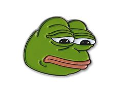 Amazon.com: Sad Pepe Lapel Pin: Everything Else