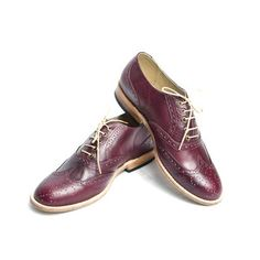 Oxfords Women's Burgundy, $199, now featured on Fab.