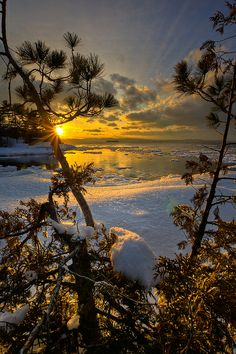 images of inspirational snow scenes Beautiful Sunset, Beautiful Images, Pictures To Paint, Cool Pictures, Skier, Dawn And Dusk, Snow Scenes, Nature Photos, Beautiful Landscapes