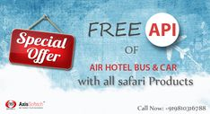 Now Travel Agencies/Agents Get Your Own Travel Booking Portal with Free XML API At Very Cheap Price.
