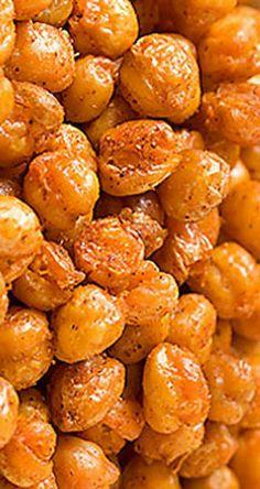 Roasted Chickpeas | gimmesomeoven.com