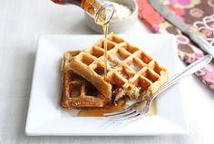 Honey Yogurt Waffles